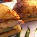 Hamburgers au poulet sauce curry mangue