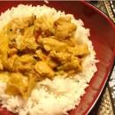 Poulet coco curry classique
