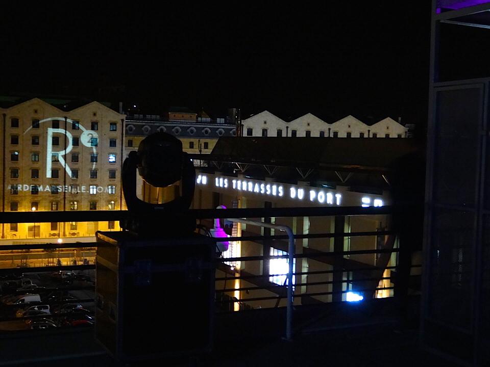 Le r fectoire les terrasses du port marseille fully - Terrasse du port marseille ouverture ...