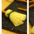 Petits balais pour Halloween – Bretzel – fromage – ciboulette