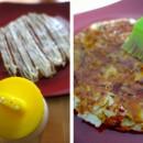 Okonomiyaki à ma façon aux lardons et fromage