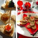 Petits toasts coeur – «recette» dernière minute et mini budget pour Noël