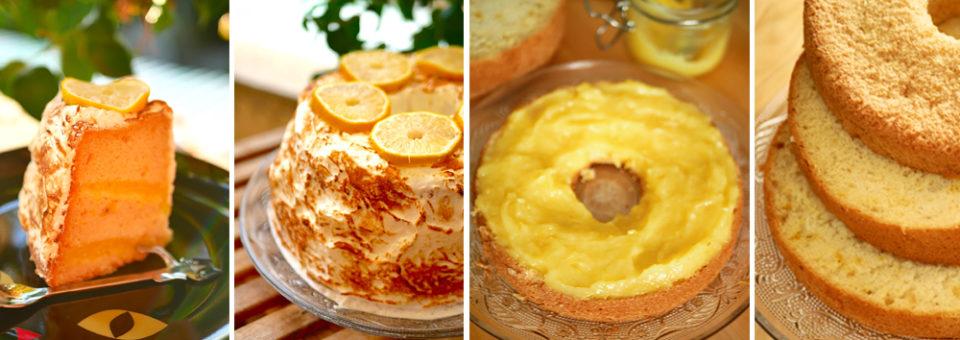 Angel cake au citron meringué