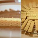 Shortbreads nappés de chocolat