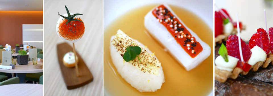 Restaurant Le Neuvième art par Christophe Roure – 2 étoiles Michelin – Lyon – France